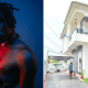 Fireboy shows off his newly acquired mansion in Lagos [PHOTOS]