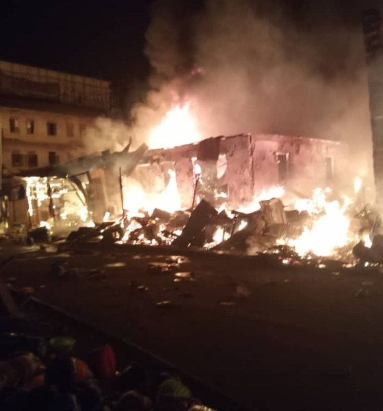 Inferno guts three shops in Kano-TopNaija.ng