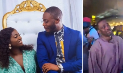 Fuji Musician, Pasuma inhot tears as he gives his daughter's hand in marriage [VIDEO]