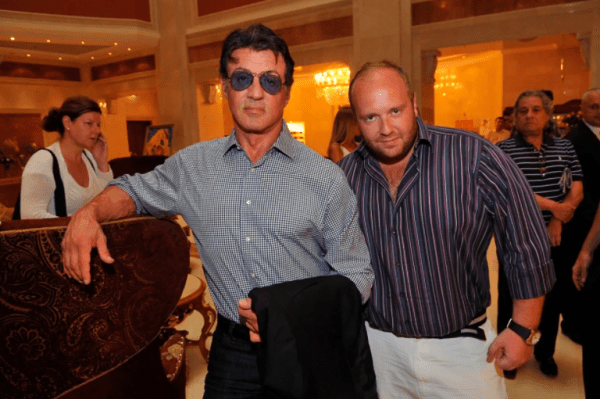 Vitaliy with Sylvester Stallone 1