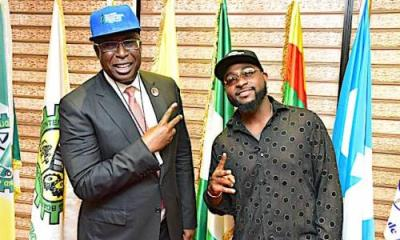 Minister of Petroleum hails Davido and his generation, gives him new assurance of comittment