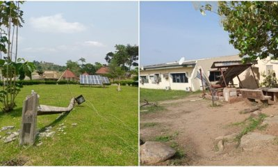 How Rainstorm destroyed buildings, electric poles in Osun Poly-TopNaija.ng