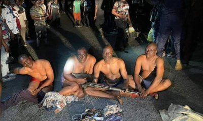 Police arrest four with pump-action rifles, charms at PDP southwest congress in Osun-TopNaija.ng