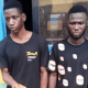 Police arrest two men for allegedly robbing gold merchant of jewelry worth N6m in Ogun [PHOTO]-TopNaija.ng
