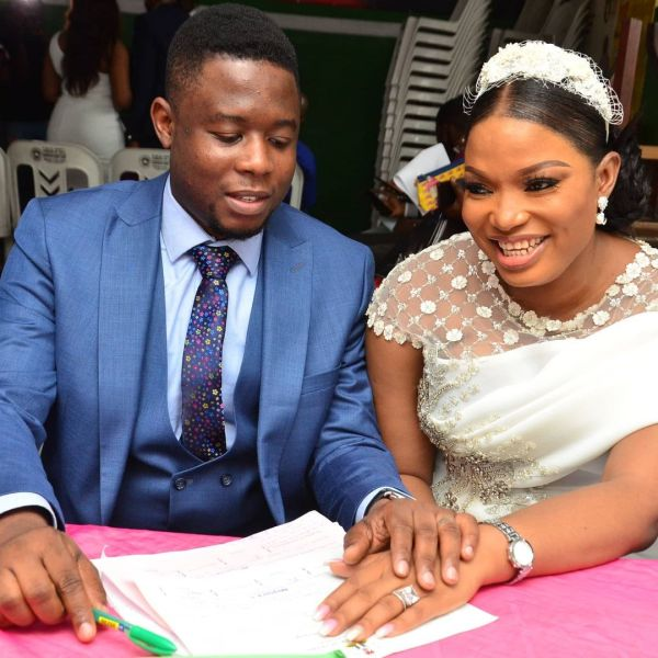 Tricia Ikponmwonba weds Olufemi-Olumide Triciabiz weds Olufemi-Olumide 1