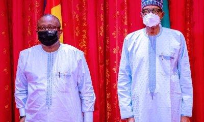 Buhari receives Guinea Bissau President, Embaló in Abuja [PHOTOS]
