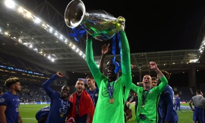 Chelsea's Edouard Mendy is now the first African goalkeeper to win Champions League