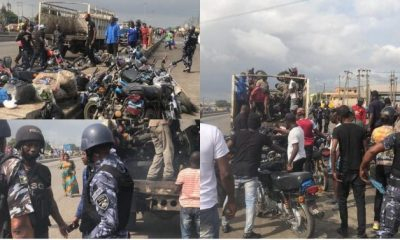 LASG seizes 91 bikes, deepens war against okada [PHOTOS]