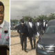 Pastor Enoch Adeboye reacts as his son, Dare Adeboye is to be laid to rest today