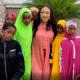 Nollywood actress, Tonto Dikeh feeds 2000 Muslims as she celebrates Eid Mubarak