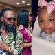 Popular singer, Timaya's 3rd child, Maya celebrates first birthday today [PHOTOS]