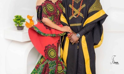 Aye le o - Toyin Abraham reacts as her husband refuse to kiss her while on a movie set