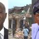 Fashola-demolished-building-and-Sannwo-olu topnaija.ng