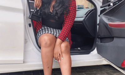 Suspended nollywood actress, Nkechi Blessing adds new Range Rover to her fleet of cars.