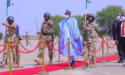 President Buhari visits Maiduguri, to launch projects [PHOTOS]