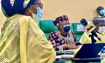 Zainab Ahmed and Dr Ngozi Okonjo-Iweala,