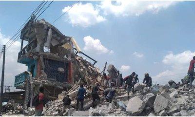 Tension as one die during building demolition in Port Harcourt-TopNaija.ng