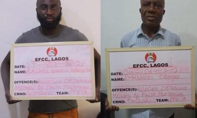 EFCC arrest two men for alleged Multi-million Naira fraud-TopNaija.ng