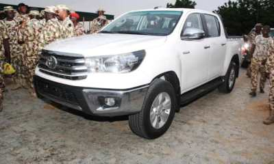 Nigerian Army presents official vehicles to Sergeant Majors [PHOTOS]