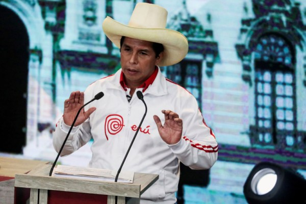 School teacher, Pedro Castillo