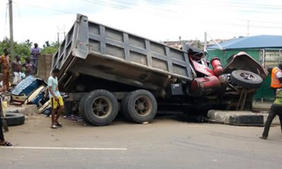 Tears as truck crushes four to death in Kogi-TopNaija.ng