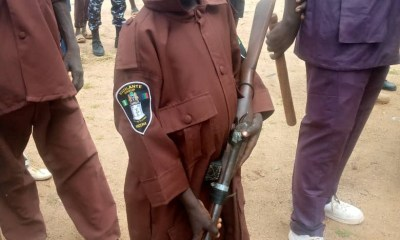 10-year-old boy 'joins' local vigilante group to fight bandits in Katsina