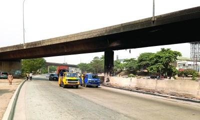 Eko Bridge airport flyover repair