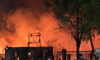 How fire razed Okwelle-Soku Waterfront in Port Harcourt-TopNaija.ng