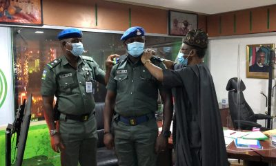 Lai Mohammed with police