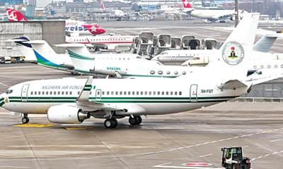 Presidential Air Fleet nigeria