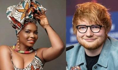 Yemi Alade, Ed Sheeran topnaija