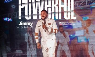 Jimmy D Psalmist – Powerful [ Video Lyrics] -TopNaija.ng