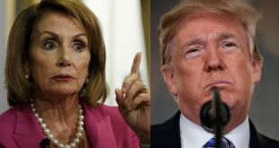 Pelosi Threatens To Use Smoke To Forcibly Remove President Trump From The White House