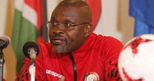 kenya and harambee stars coach jacob ghost