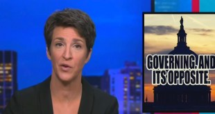 Rachel Maddow: The GOP Is A 'Dumpster Fire' That Is Incapable Of Helping Govern The Country