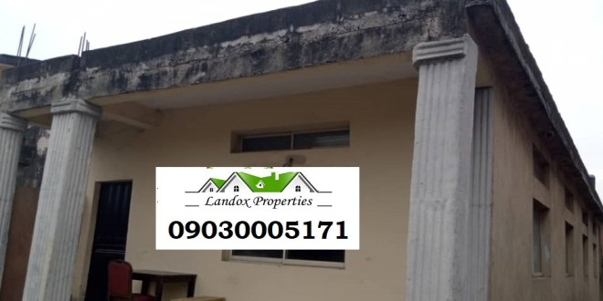 A plot of land with uncompleted building for sale in Surulere Distress Sale!!!!