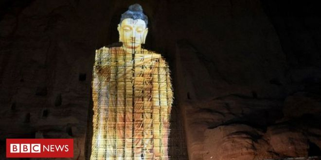 In pictures: 3D return for Bamiyan Buddha destroyed by Taliban