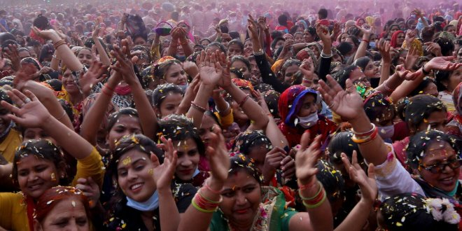 India's case surge hits highs not seen in months as festival season begins.