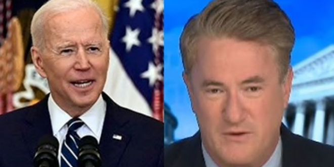 Scarborough Claims Biden Was 'Far More Articulate Than Trump Ever Was' In First Press Conference