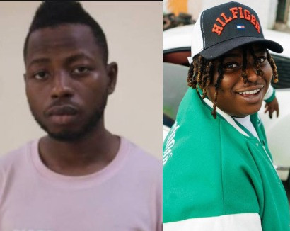 Singer Barry Jhay finally reacts to the death of his record label boss, Kashy Godson