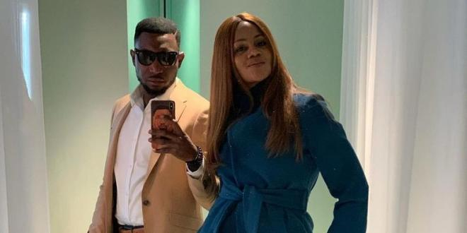 Timi Dakolo celebrates wife Busola on their 9th wedding anniversary with hilarious message