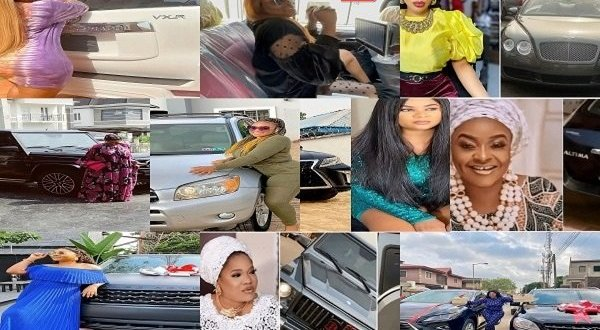 10 Nollywood actresses who acquired cars in 2021