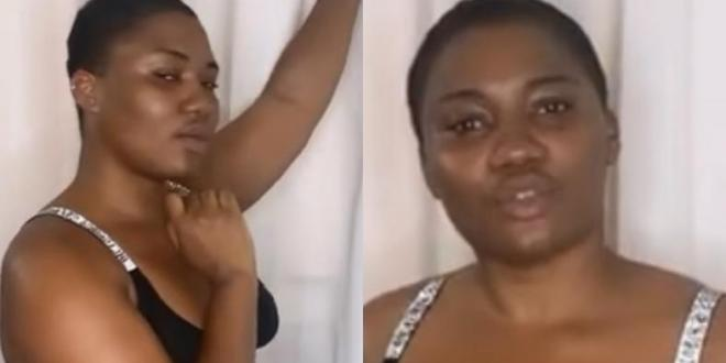 Abena Korkor goes wild again on social media with another nude post (VIDEO)