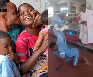 Differently-abled man and his wife, who recently dedicated their child in viral video, share their amazing love story (video)