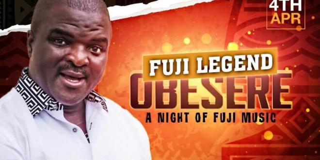 """Easter Special @ LiVE! present """"A Night of Fuji Music"""" with Obesere"""