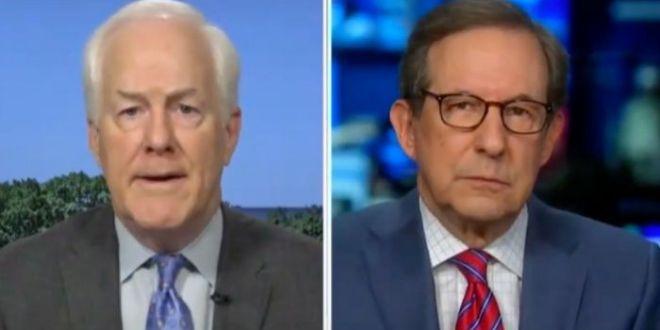 Fox News' Chris Wallace Asks GOP Sen. Cornyn If Questioning Biden's Mental Faculties Is Helpful