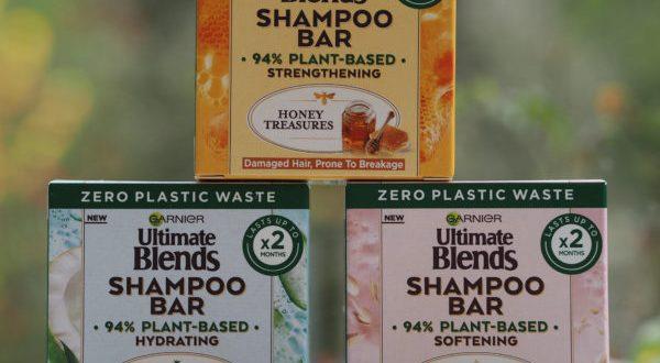 Garnier Ultimate Blends Shampoo Bar   British Beauty Blogger