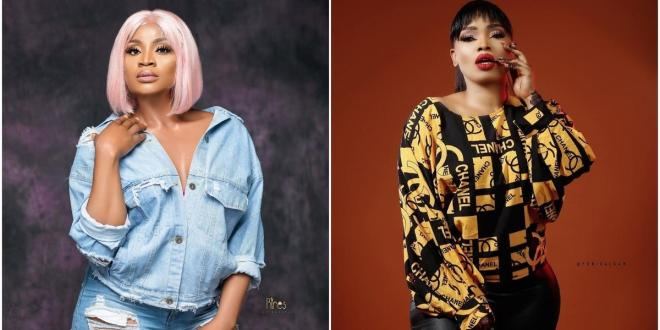 'I'll show off my baby bump so they won't say I stole another baby's photo' - actress Uche Ogbodo shades Halima Abubakar in new IG post