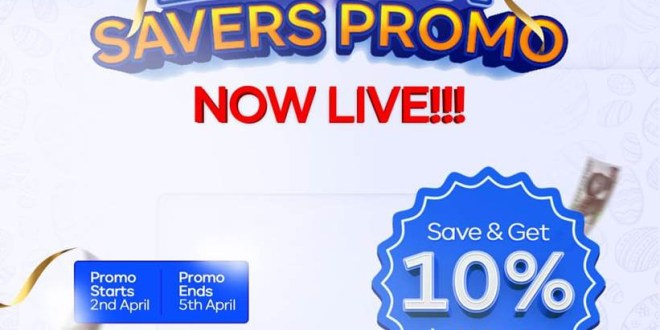Save More, Earn More - Join the Easter Savers promo now LIVE? on Reaprite and get a WHOOPING 10% on your savings in 6months!!!  ?