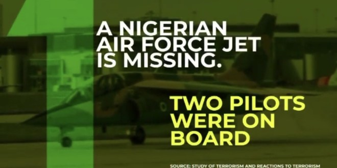 Some interesting facts about the Missing Fighter Jet
